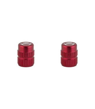 Box One Cone Valve Caps - Red