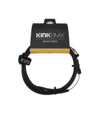 KINK 1-Piece Brake Cable Black
