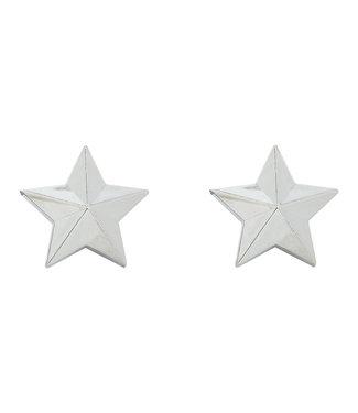 TRICKTOPZ VALVE CAPS - CHROME STARS