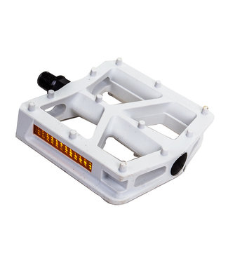 BLACK OPS PEDALS  T-BAR 1/2 WHT