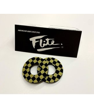 elite CHECKERS BLACK AND GOLD - GRIP DONUTS