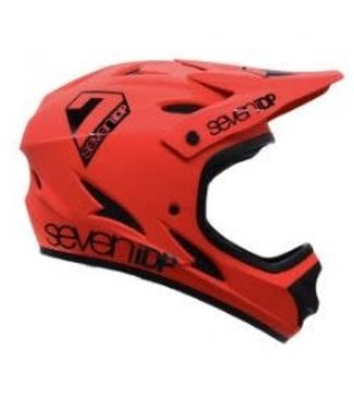 7iDP M1 Youth, Helmet, Matt Thruster Red/Black, M, 48 - 50cm