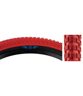 CUB TIRE 24x2.0 RED/BLACK
