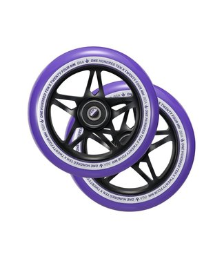 S3 WHEEL 110mm Purple/ Black PAIR