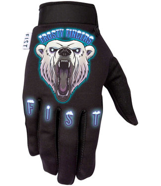 Fist Handwear Fist Handwear Polar Bear Frosty Fingers Cold Weather Gloves - Multi-Color, Full Finger
