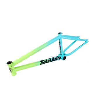 "Sunday Street Sweeper 20.75"" Frame Matte Green Fade"