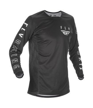 FLY RACING YOUTH KINETIC K121 JERSEY BLACK/WHITE