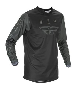 FLY RACING YOUTH F-16 JERSEY BLACK/GREY