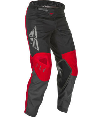 FLY RACING YOUTH KINETIC K121 PANTS RED/GREY/BLACK