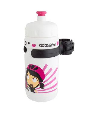 zefal LITTLE-Z Water Bottle White/Pink
