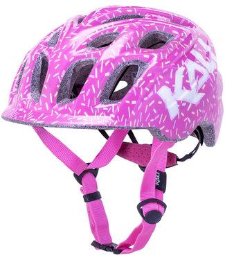Kali Protectives Chakra Child Helmet - Sprinkles Pink, Children's, Small