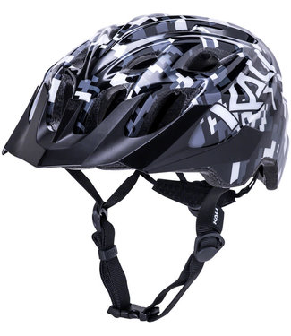 Kali Protectives Chakra Youth Helmet - Pixel Black, One Size