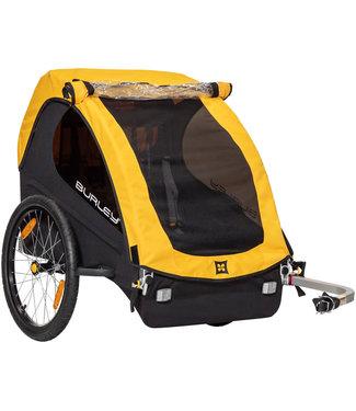 Burley Bee Child Trailer - Double, Yellow