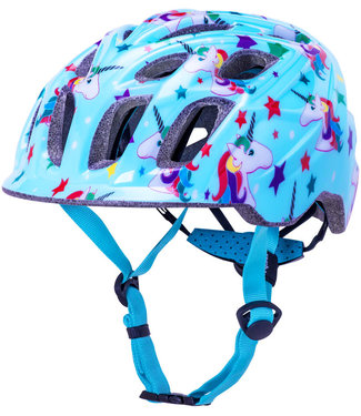 Kali Protectives Chakra Child Helmet - Unicorn Blue, Children's, Small