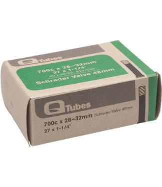 Q-Tubes TUBE 700x28-32mm 48mm Long Schrader Valve