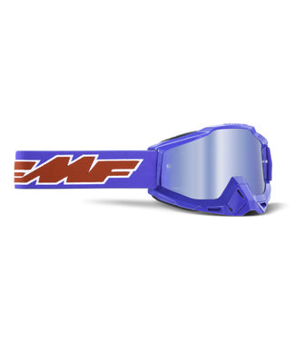 FMF GOGGLE  POWERBOMB YOUTH GOGGLE ROCKET BLUE MIRROR BLUE LENS