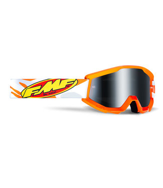FMF GOGGLE  POWERCORE ADULT GOGGLE ASSAULT GREY CAMO MIRROR SILVER LENS