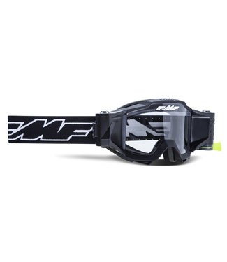 FMF GOGGLE  POWERBOMB YOUTH GOGGLE ROCKET BLK CLEAR LENS FILM SYS