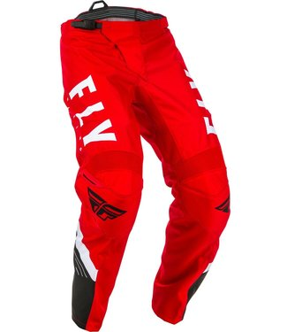 FLY RACING F-16 PANTS RED/BLACK/WHITE SZ 20