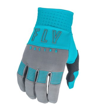 FLY RACING YOUTH F-16 GLOVES GREY/BLUE