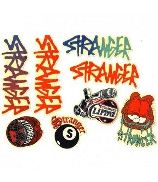 Stranger STICKER PACK (8 STICKERS)