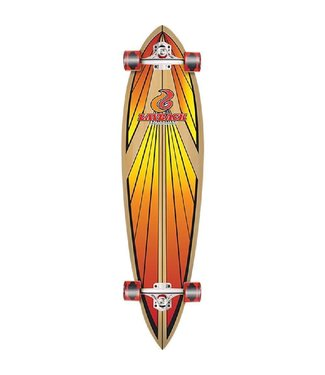 LAYBACK Soul Ride Red Pin Tail Complete 9.75 X 40