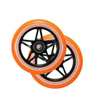 S3 WHEEL 110mm Orange/Black PAIR
