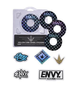 HOLLOW CORE WHEEL STICKERS REPEAT 110mm