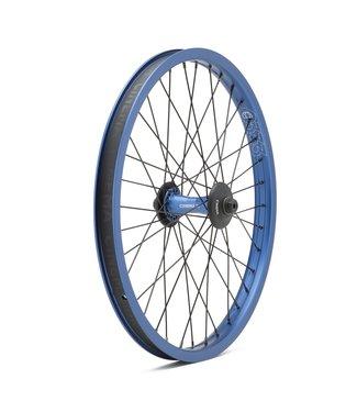 Cinema ZX Front Wheel w/Hub Guards:Blue