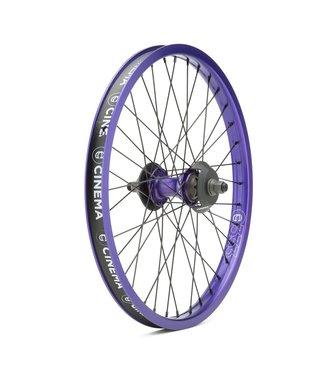 Cinema ZX Cassette Wheel w/Hub Guards:Purple RHD