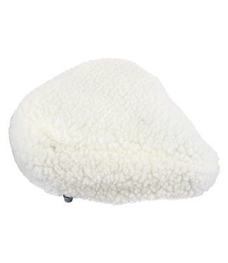 SEAT COVER FURRY LG CRUISER/EXERCISER WH