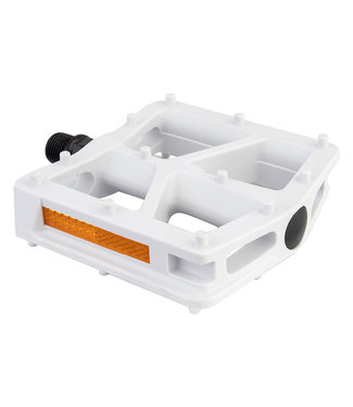BLACK OPS T-Bar Pedals White