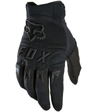 Fox Racing Dirtpaw Glove - Black/Black, Full Finger
