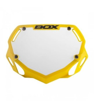 BOX COMPONENTS NUMBER PLATE BOX PHASE 1 SMALL Yellow