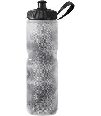 Polar Bottles Sport Insulated Fly Dye Water Bottle - 24oz, Monochrome