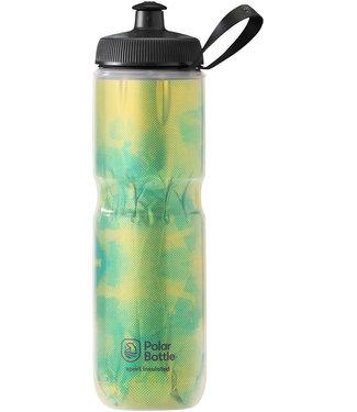 Polar Bottles Sport Insulated Fly Dye Water Bottle - 24oz, Lemon Lime