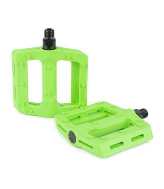 The Shadow Conspiracy PEDALS MX SURFACE PLASTIC NEON GREEN