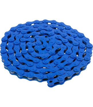 "Bluebird Chain - Single Speed 1/2"" x 1/8"", 112 Links, Blue"