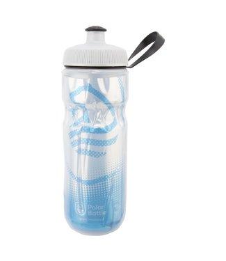 POLAR Sport Insulated Bottle - White/Cobalt Blue 20 oz.