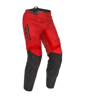 FLY RACING YOUTH F-16 PANTS RED/BLACK SZ 18