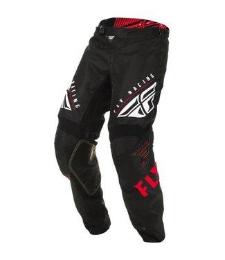 FLY RACING KINETIC K220 PANTS RED/BLACK/WHITE SZ 18