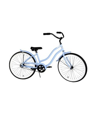 AMERICAN FLYER 24″  Wave 2.0 Single Speed - Gloss Baby Blue
