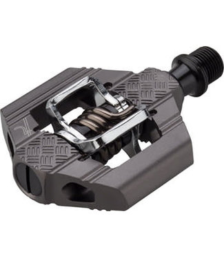 """Crank Brothers Candy 2 Pedals - Dual Sided Clipless, Aluminum, 9/16"""", Gray"""