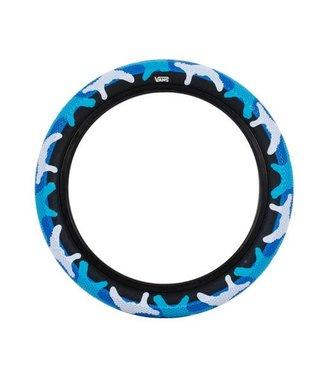 Cult Vans Tire - 16 x 2.2, Clincher, Wire, Blue Camo/Black