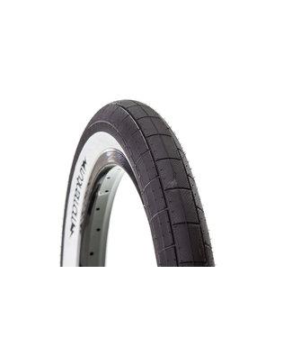 DEMOLITION Momentum 2.35 110 psi tire black w/white wall
