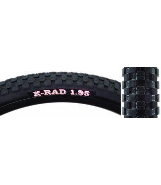 Kenda TIRE K-RAD SPORT 20x1.95 BK/BK SRC/60 WIRE 65psi