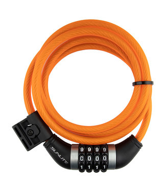 LOCK CABLE 8mmx6f COM w/BKT COIL OR