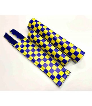 FLITE CHECKERBOARD PADSET - BLUE/ YELLOW