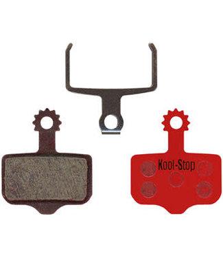 Kool-Stop Disc Brake Pads for Avid/SRAM - Semi Metallic Compound, Fits Avid Elixir 9/7/5/3/1/CR/R, SRAM XX/XO/DB5/DB3/DB1, Level TL
