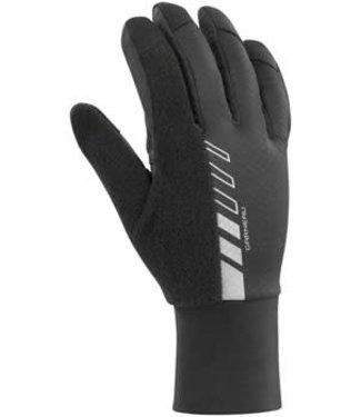 Garneau Biogel Thermal Gloves - Black, Full Finger, Men's, Medium